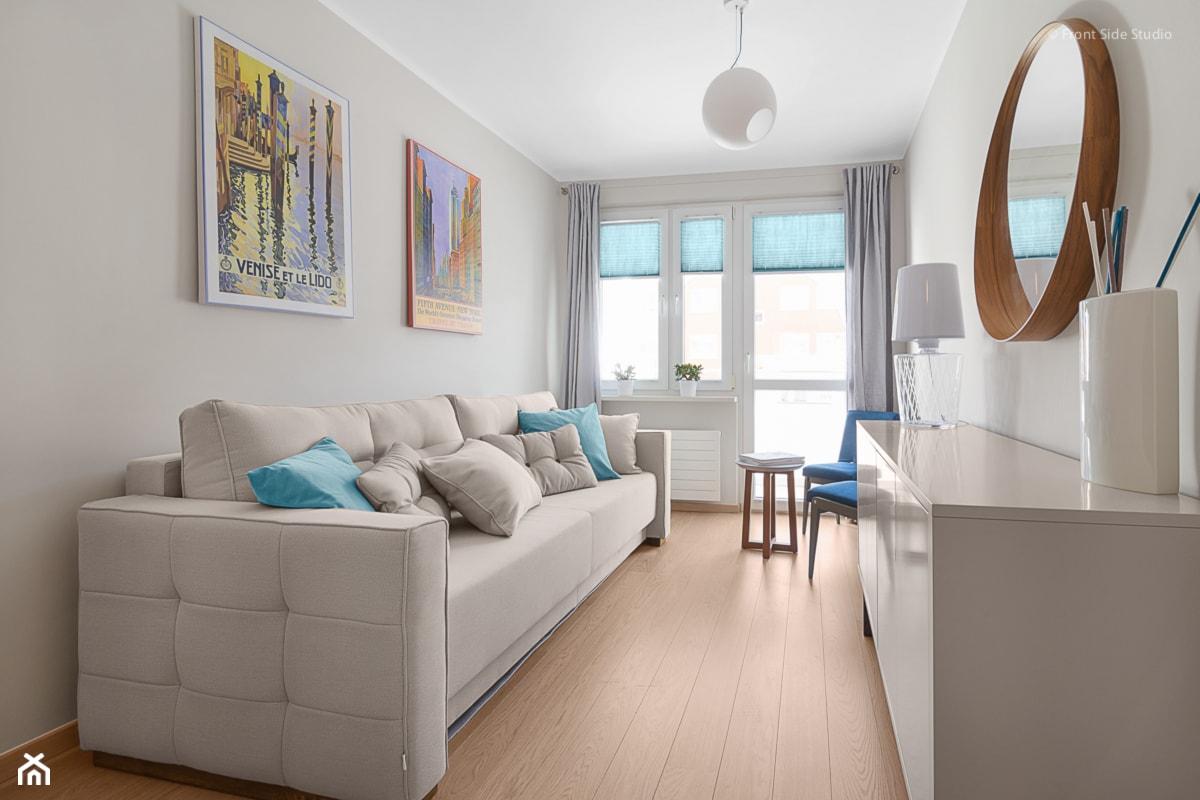 Mieszkanie w Kołobrzegu - Biuro, styl nowoczesny - zdjęcie od PracowniaPolka - Homebook