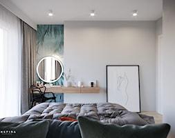 Zieleń przede wszystkim - Sypialnia, styl nowoczesny - zdjęcie od Inspira Design - Homebook