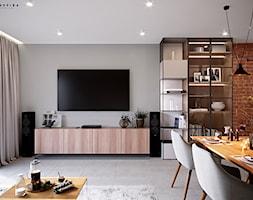 Dom w Zielonce - Salon, styl nowoczesny - zdjęcie od Inspira Design - Homebook