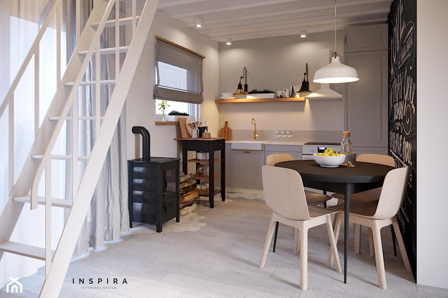 Kuchnia Pod Antresolą Zdjęcie Od Inspira Design Homebook