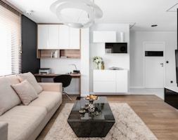 Mieszkanie balck&white - zdjęcie od Studio Projekt