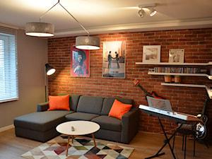 Dom w Piórkowie - Średni szary pokój dziecka dla chłopca dla dziewczynki dla ucznia dla nastolatka, styl nowoczesny - zdjęcie od Studio Projekt