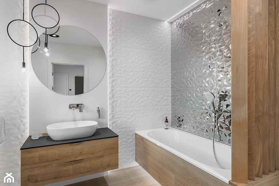 Łazienka w domu nad Jeziorakiem - zdjęcie od Studio Projekt