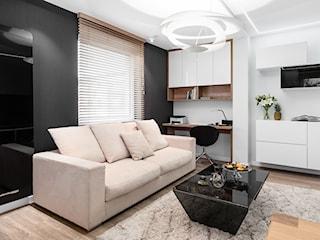 Mieszkanie black & white realizacja