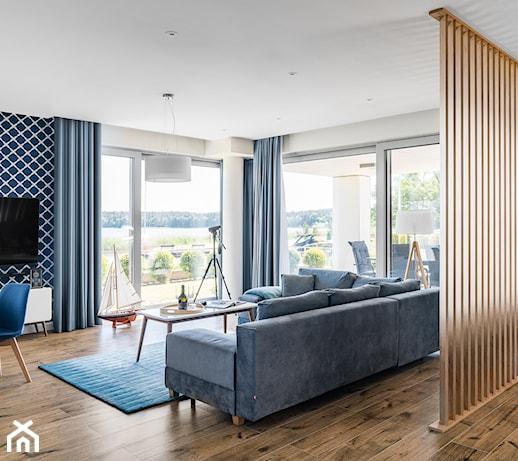 Błękit w mieszkaniu – jak wprowadzić niebiański kolor do mieszkania i z czym go łączyć?