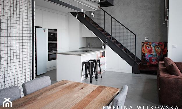 podłoga w kuchni z betonu