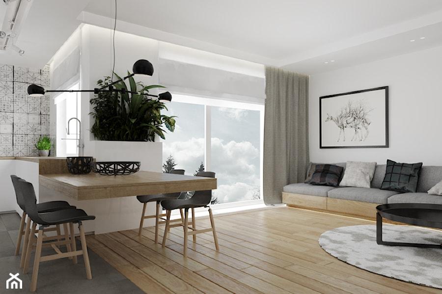 Mieszkanie w Warszawie - Salon, styl nowoczesny - zdjęcie od Ewelina Witkowska Architektura Wnętrz