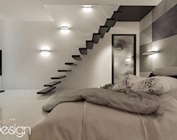 projekt aranżacji sypialni w stylu minimalistycznym - zdjęcie od Michał Ślusarczyk