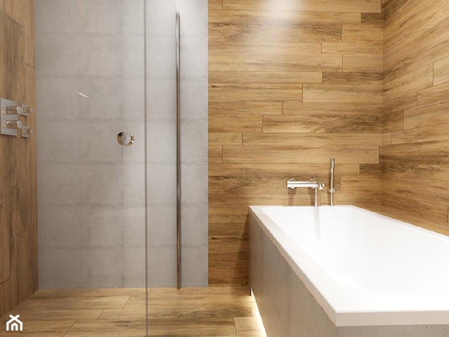 Drewno I Beton W łazience Zdjęcie Od Michał ślusarczyk