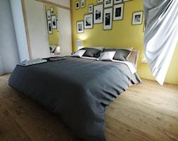 yellow-grey bedroom - zdjęcie od Michał Ślusarczyk