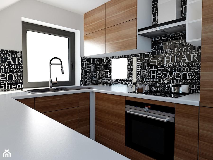 kuchnia na poddaszu - zdjęcie od Michał Ślusarczyk