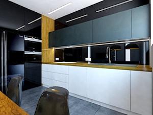 salon z kuchnią - zdjęcie od Michał Ślusarczyk