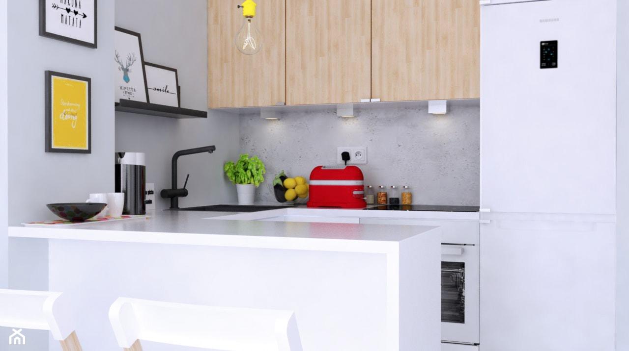 Kuchnia otwarta w nowoczesnym stylu - zdjęcie od Michał Ślusarczyk - Homebook