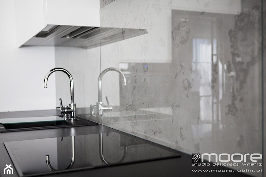 Beton Dekoracyjny W Kuchni Zdjęcie Od Studio Dekoracji