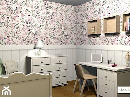 Aranżacje wnętrz - Pokój dziecka: Romantyczny pokój dziewczynki - W.Angelika. Przeglądaj, dodawaj i zapisuj najlepsze zdjęcia, pomysły i inspiracje designerskie. W bazie mamy już prawie milion fotografii!