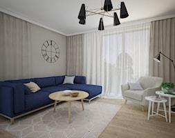 Dom w Tykocinie - Salon, styl skandynawski - zdjęcie od MOUD Joanna Swatek - Homebook