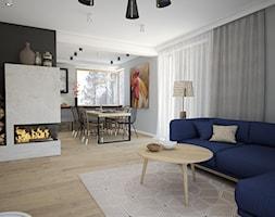 Widok na jadalnie z salonu. - zdjęcie od MOUD Joanna Swatek - Homebook