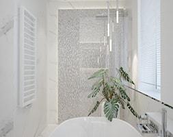 marmurowa łazienka w stylu nowoczesnym - zdjęcie od MOUD Joanna Swatek - Homebook