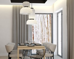 minimalistyczna jadalnia - zdjęcie od MOUD Joanna Swatek - Homebook