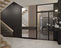hol ze stalowymi drzwiami - zdjęcie od MOUD Joanna Swatek - Homebook