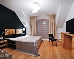 Dom wstylu skandynawskim - Sypialnia, styl skandynawski - zdjęcie od Miliform