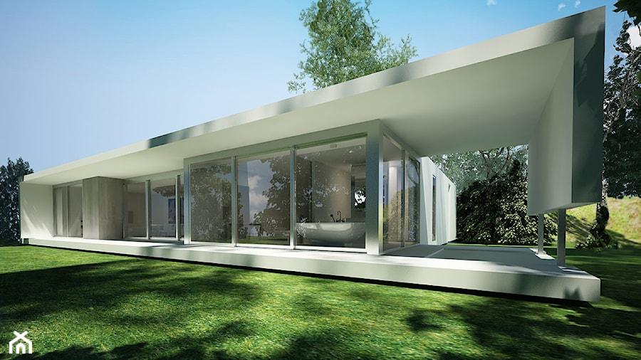 Projekt Domu Jednorodzinnego   Zdjęcie Od Beton House Seweryn Nogalski