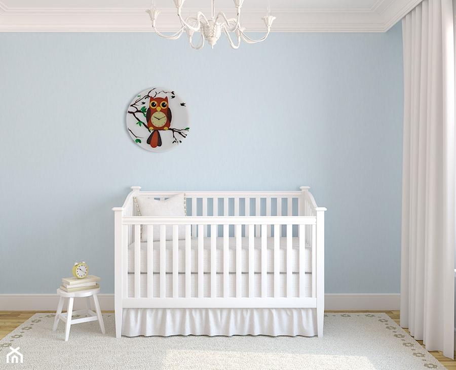 Aranżacje wnętrz - Pokój dziecka: Średni pastelowy niebieski pokój dziecka dla chłopca dla niemowlaka - Mango . Przeglądaj, dodawaj i zapisuj najlepsze zdjęcia, pomysły i inspiracje designerskie. W bazie mamy już prawie milion fotografii!