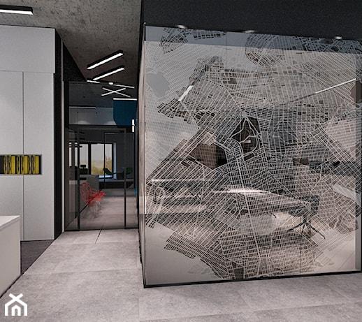 0c699f90e4a69 Biuro firmy Ambro - Wnętrza publiczne, styl industrialny - zdjęcie od Madama