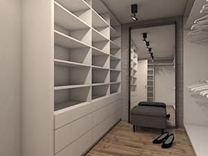 Dom w Warszawie - Średnia zamknięta garderoba - zdjęcie od A2 STUDIO pracownia architektury