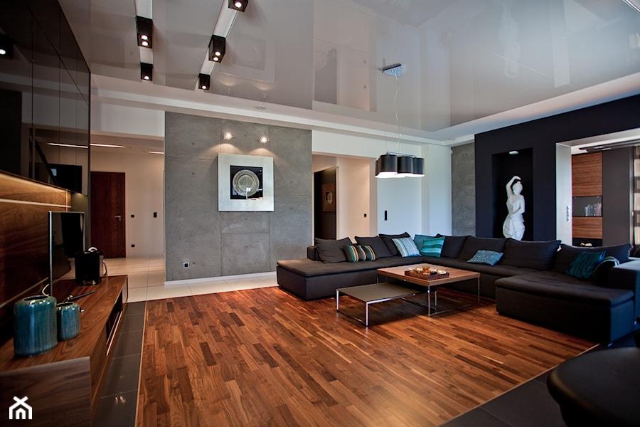 Salon W Domu Jednorodzinnym Zdjęcie Od A2 Studio