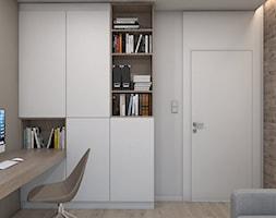 DOM JEDNORODZINNY D12/2015 TARNOWSKIE GÓRY - Biuro, styl nowoczesny - zdjęcie od A2 STUDIO pracownia architektury