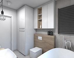 apartament skandynawski / Tarnowskie Góry - Łazienka, styl skandynawski - zdjęcie od A2 STUDIO pracownia architektury - Homebook