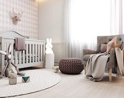 Dom jednorodzinny w Tarnowskich Górach 2017 - Mały szary pokój dziecka dla chłopca dla dziewczynki dla niemowlaka, styl nowoczesny - zdjęcie od A2 STUDIO pracownia architektury