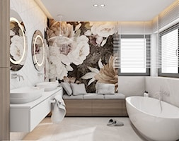 łazienka Z Tapetą Aranżacje Pomysły Inspiracje Homebook