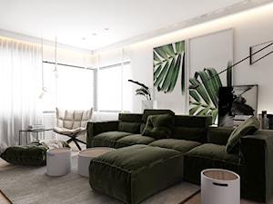 Zielone dekoracje na ścianę – modne i stylowe