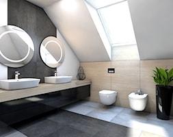 Dom jednorodzinny / Siemianowice Śląskie. - Łazienka, styl nowoczesny - zdjęcie od A2 STUDIO pracownia architektury - Homebook
