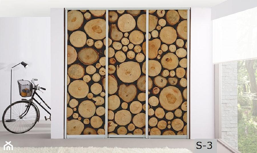 3bb6c49bdc Aranżacje wnętrz - Garderoba  Panel szklany do szafy - Inoutprint.  Przeglądaj