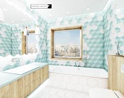 Turkusowa łazienka Aranżacje Pomysły Inspiracje Homebook