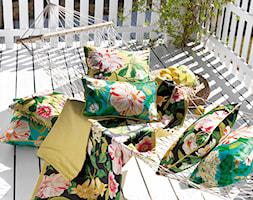 Tkanina w kwiaty Floreanna, marki Sanderson, kolekcja Voyage of Discovery - zdjęcie od Ardeko