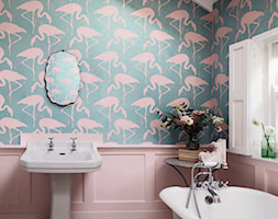 Tapeta we flamingi, marka Sanderson, kolekcja Vintage 2 - zdjęcie od Ardeko