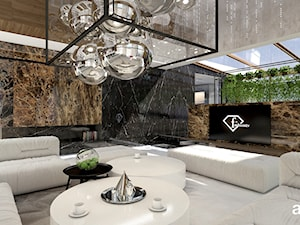 salon w nowoczesnej rezydencji - zdjęcie od ARTDESIGN architektura wnętrz