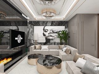 TAKE THE BULL BY THE HORNS | Wnętrza apartamentu