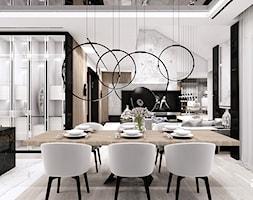 jadalnia w luksusowym domu - zdjęcie od ARTDESIGN architektura wnętrz