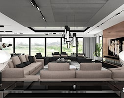 Salon w stylu nowoczesnym - zdjęcie od ARTDESIGN architektura wnętrz - Homebook