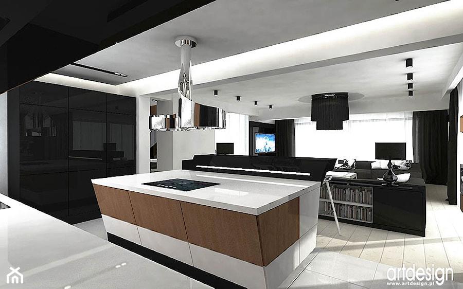 Projekty kuchni zdj cie od artdesign architektura wn trz for Projekty kuchni z salonem