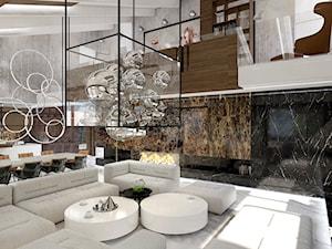 nowoczesny dom z antresolą - zdjęcie od ARTDESIGN architektura wnętrz