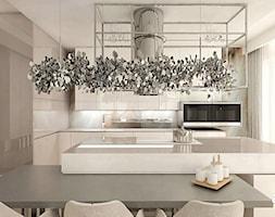 elegancka kuchnia w apartamencie - zdjęcie od ARTDESIGN architektura wnętrz