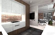 projektowanie kuchni w mieszkaniu - zdjęcie od ARTDESIGN architektura wnętrz