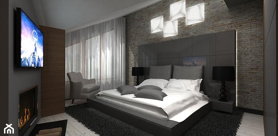 projekty sypialni - zdjęcie od ARTDESIGN architektura wnętrz - homebook