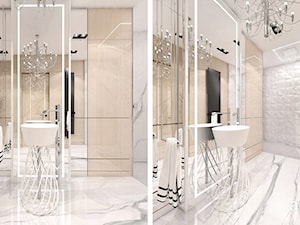 projekt łazienki w apartamencie - zdjęcie od ARTDESIGN architektura wnętrz